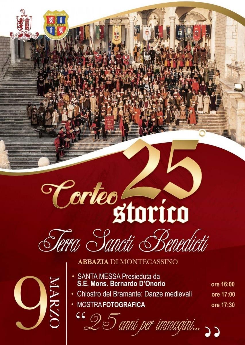 25° anniversario della nascita  del Corteo Storico Terra Sancti Benedicti – Le foto
