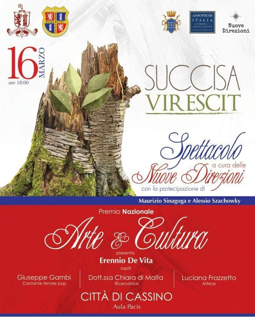 Succisa Virescit – Premio Nazionale Arte e Cultura
