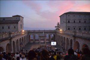Abbazia di Montecassino, 7 Luglio 2019. Concerto della 'Banda Don Bosco Città di Cassino'