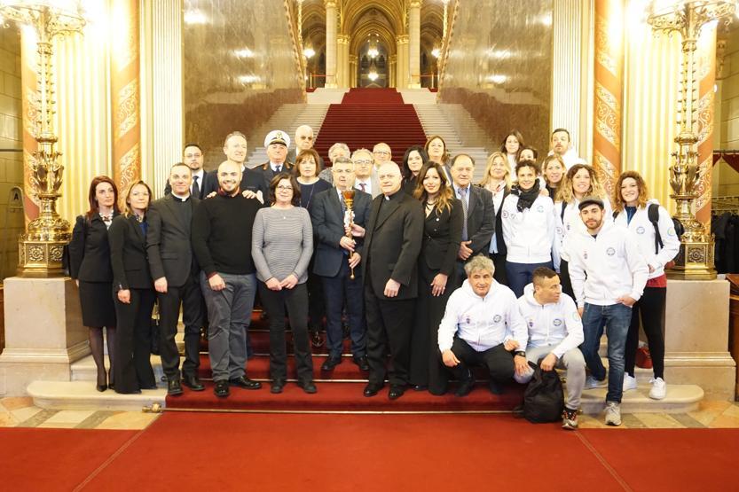 27 Febbraio – 2 Marzo, viaggio della Fiaccola Benedettina a Budapest