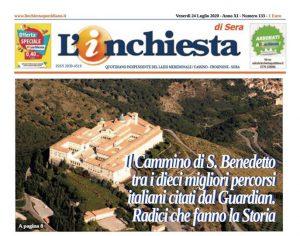 """Montecassino – Il Cammino di San benedetto tra i migliori 10 per """"The Guardian"""""""