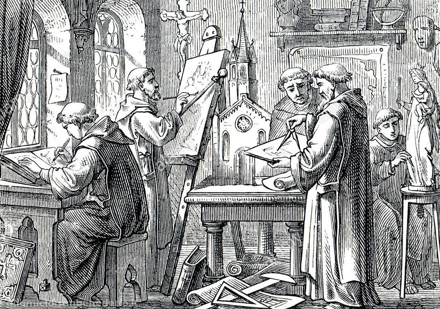 L'inventiva e la sperimentazione all'interno dei monasteri