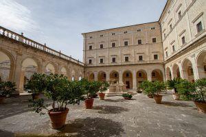 Abbazia di Montecassino – Il Chiostro dell'Archivio