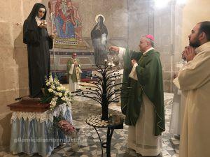 """Santa Scolastica – Chiesetta del colloquio            """" Poté di più colei che più amó"""" (San Gregorio Magno)"""