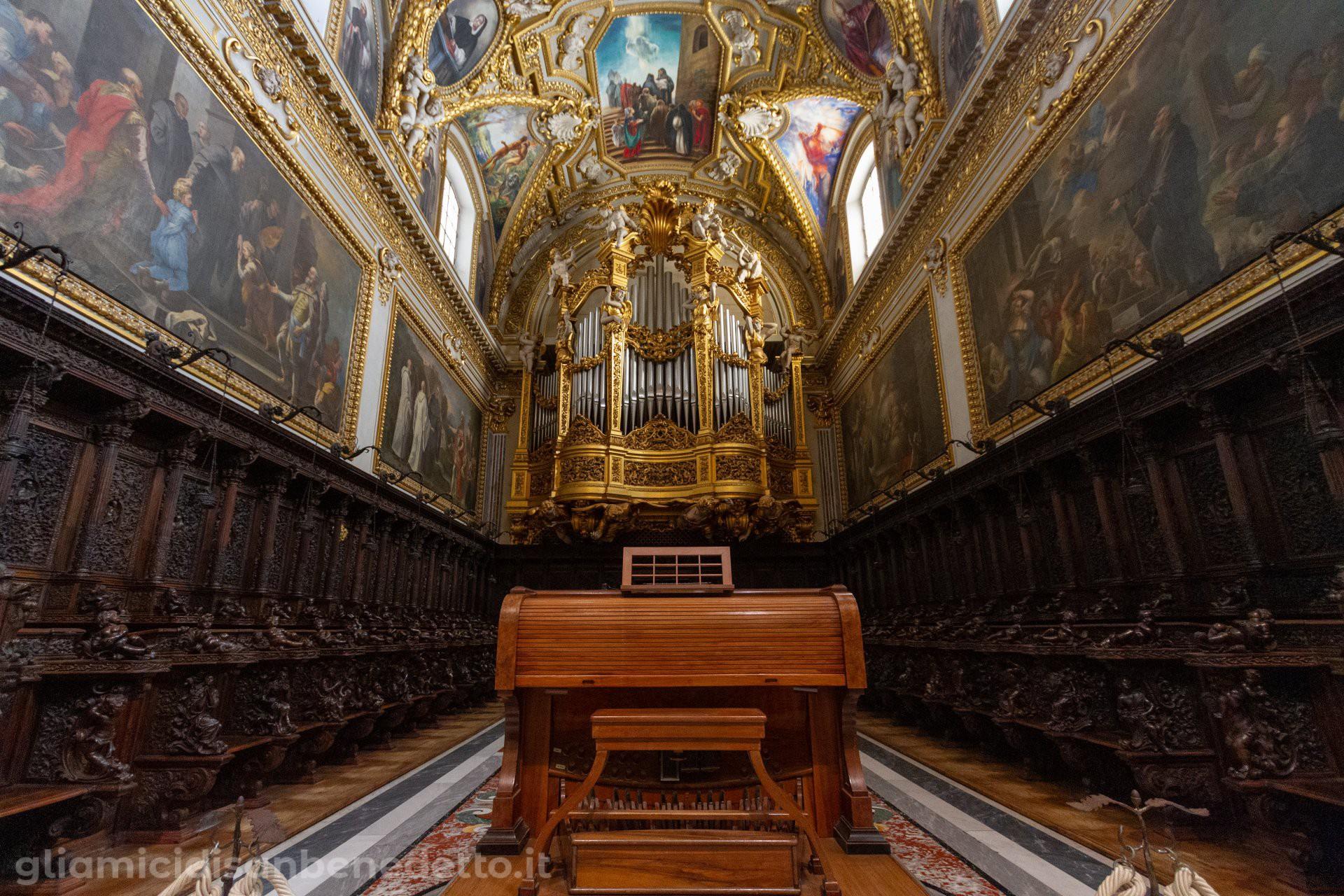 L'organo dell'Abbazia di Montecassino