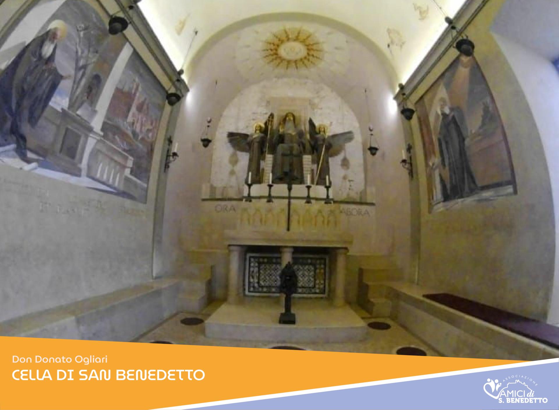 Donato Ogliari, Tempo e Spazio – Alla scuola di San Benedetto – La Cella
