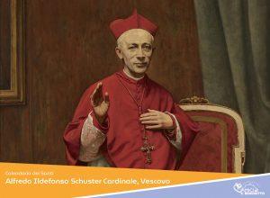Alfredo Ildefonso Schuster Cardinale, Vescovo