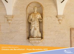 Abbazia di Montecassino – Chiostro dei Benefattori – Papa Benedetto XIII