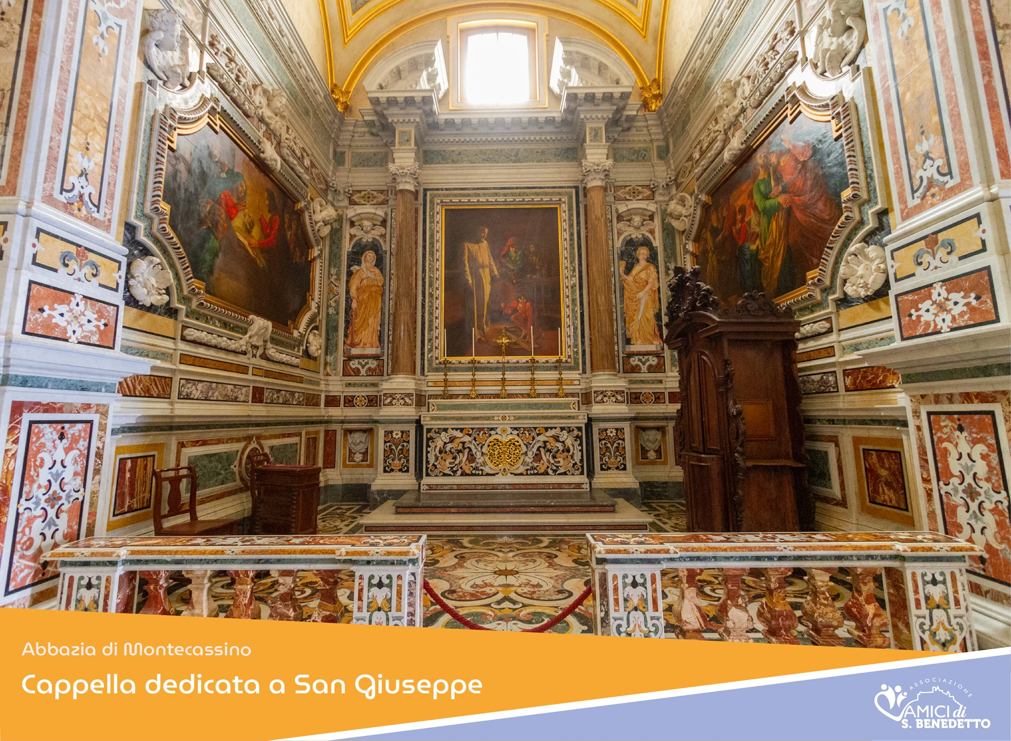 19 MARZO 2021 – La chiesa festeggia San Giuseppe.