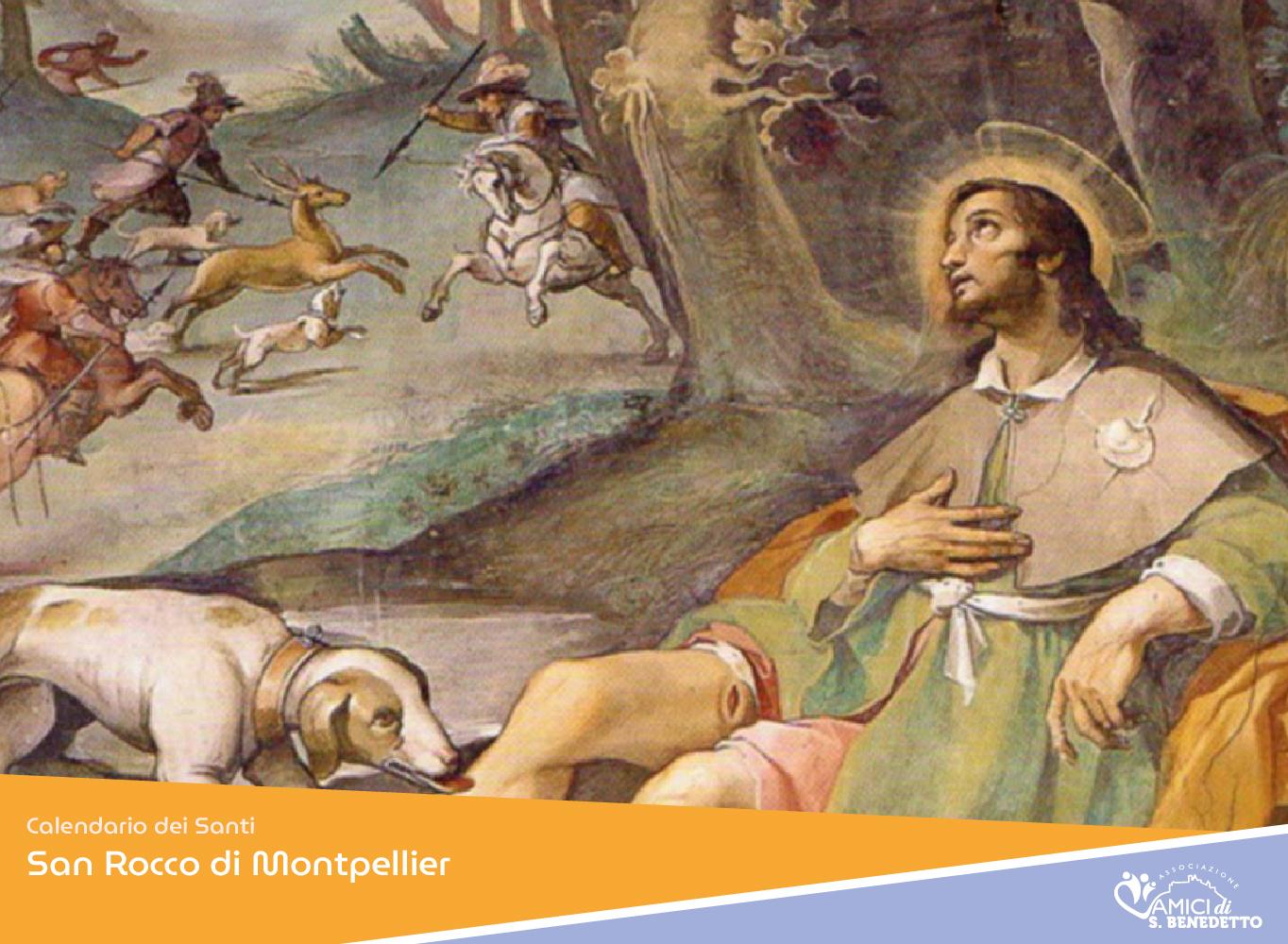 San Rocco – – il Santo del giorno