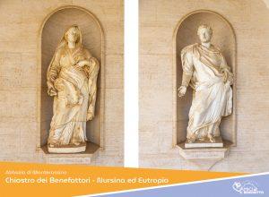 Chiostro dei Benefattori – Nursia ed Eutropio i genitori di San Benedetto
